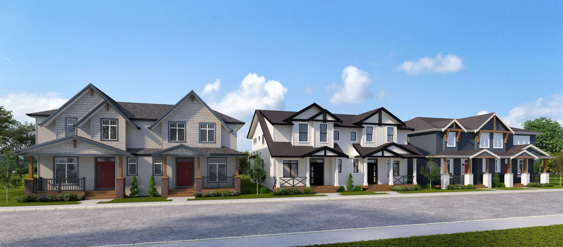 20525 76 Ave Duplex Units Rendering
